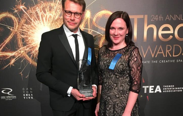 """Raiņa muzejam """"TADENAVA"""" piešķirta starptautiska balva par izciliem sasniegumiem"""