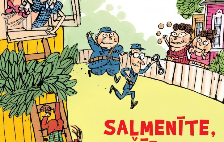 Latviski pieejams jauns stāsts no Somijā populāras bērnu grāmatu sērijas par māšelēm Salmenīti un Čībiņu