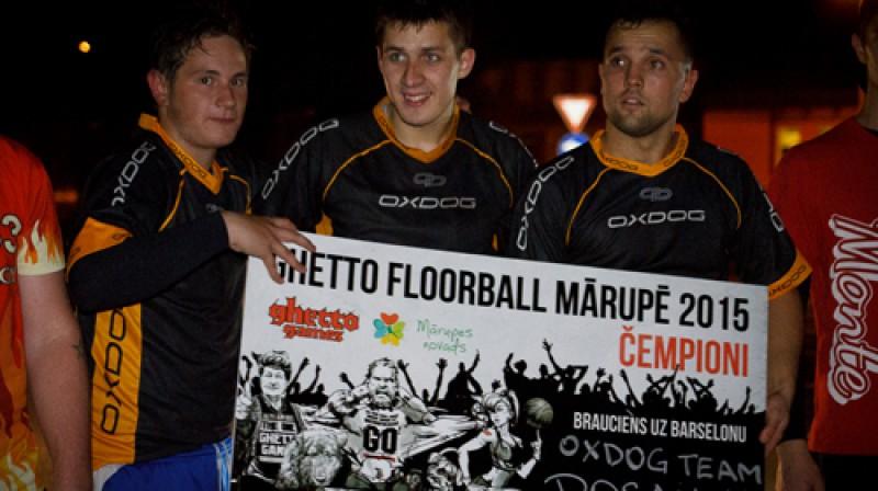 ''OXDOG team/Posantre'' Foto: Anna Paula Kuzņecova