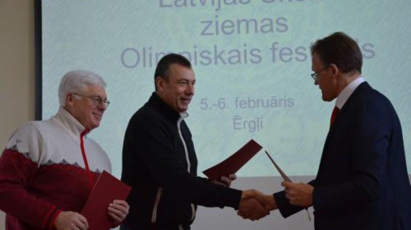 Latvijas Skolu ziemas olimpiskais festivāls Foto: lsfp.lv