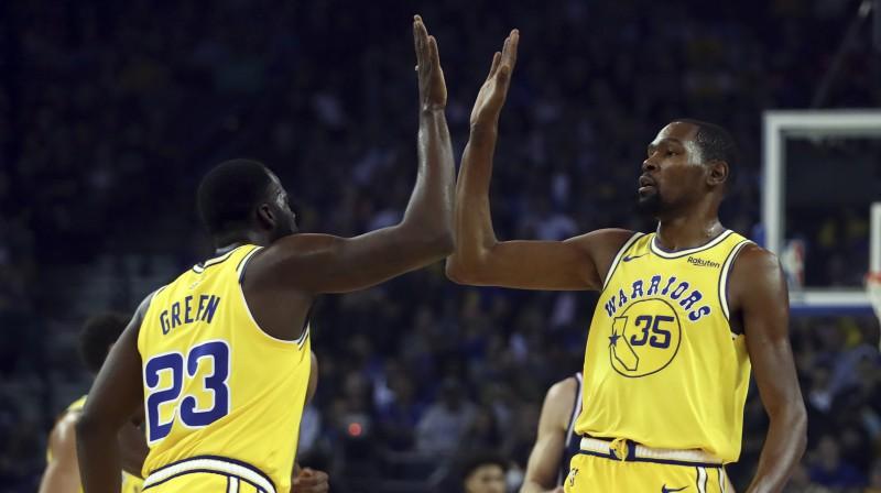 Dreimonds Grīns un Kevins Durents. Foto: AP/Scanpix