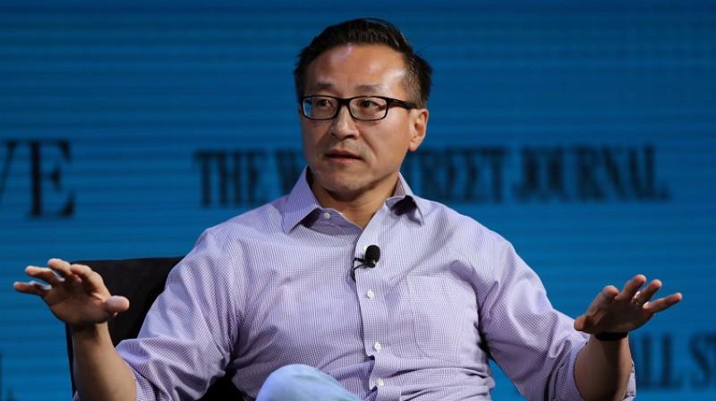 """""""Alibaba"""" līdzdibinātājs un """"Brooklyn Nets"""" līdzīpašnieks Džozefs Cai (Joseph Tsai). Foto: Reuters/Scanpix"""