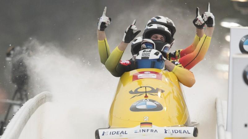 Līdera Frančesko Frīdriha četrinieks. Foto: AP/Scanpix