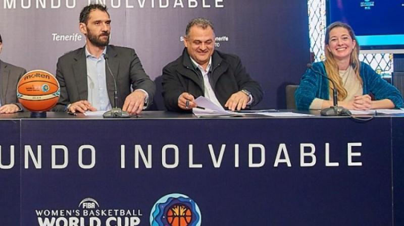 Horhe Garbahosa (pirmais no kreisās). Foto: FEB