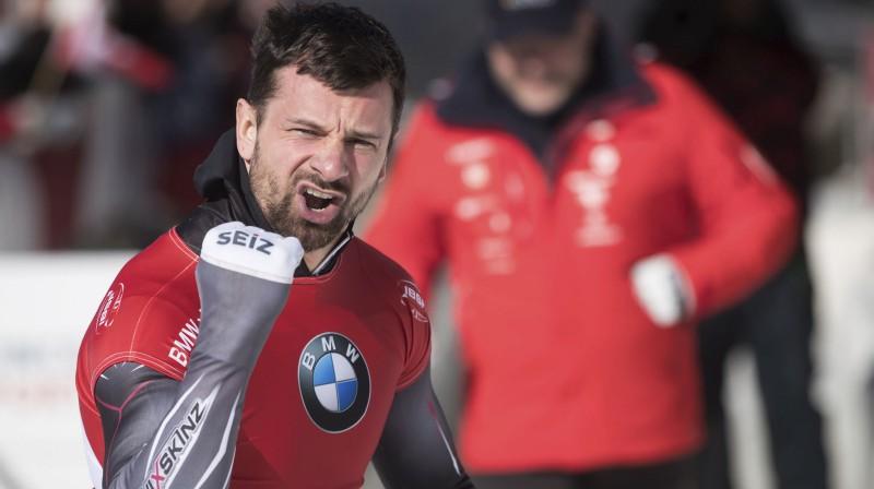 Martins Dukurs. Foto: AP/Scanpix