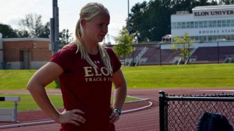 Laura Igaune. Foto no athletics.lv