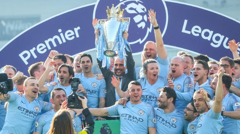 """Manchester City"". Foto: imago / Scanpix"
