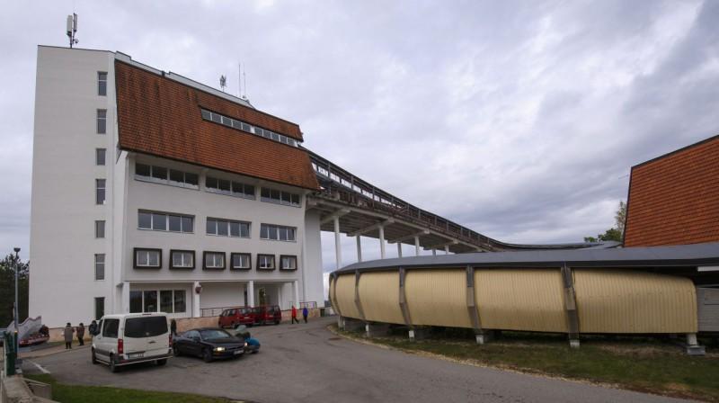 Siguldas ledus trase. Foto: Ģirts Ozoliņš, f64