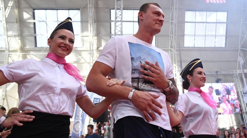 Andris Biedriņš. Foto: Romāns Kokšarovs/f64