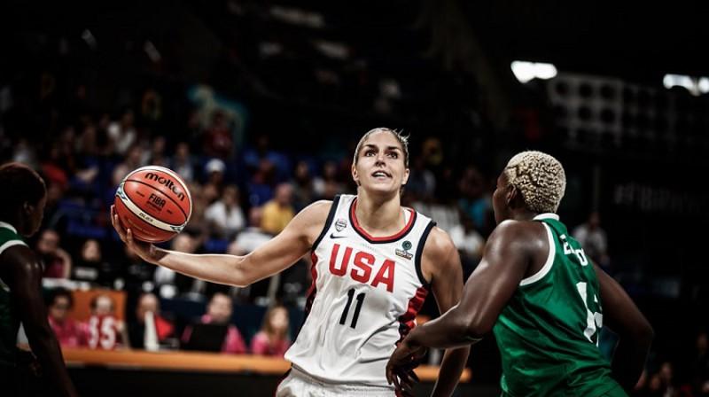 Elena Delle Donne: pirmā 50/40/90 kluba dalībniece WNBA vēsturē. Foto: FIBA