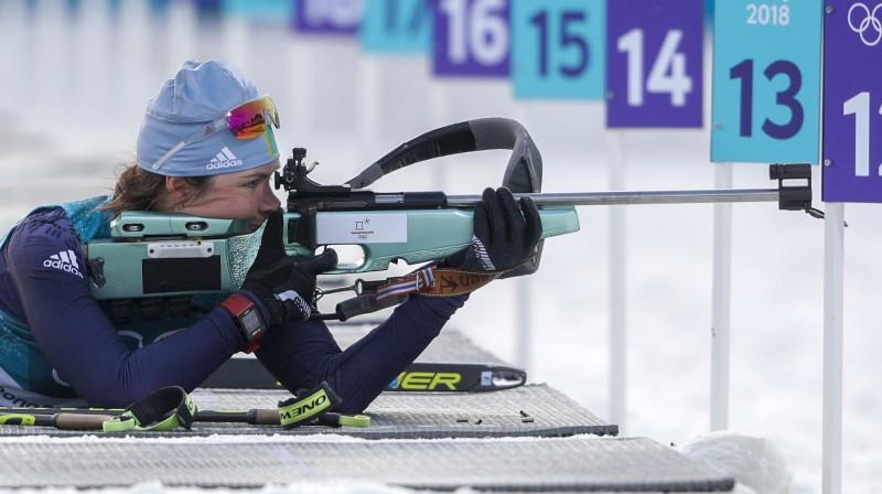 Olga Poltoraņina. Foto: AP/Scanpix
