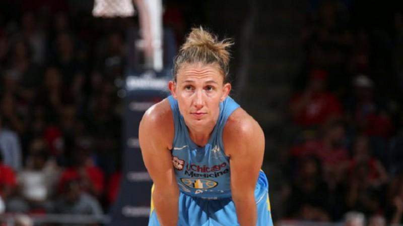 Kortnija Vanderslūta: 300 rezultatīvas piespēles 34 spēlēs. Foto: WNBA