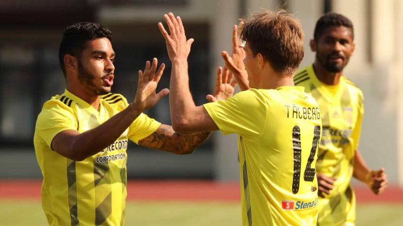 "FK ""Ventspils"" futbolisti. Foto: FK Ventspils"
