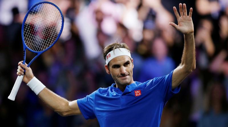 Rodžers Federers. Foto: Reuters/Scanpix