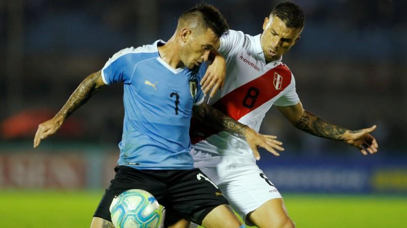 Urugvaja pret Peru. Foto: Andres Cuenca/Reuters/Scanpix