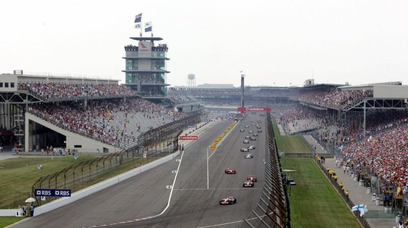F1 sacīkstes Indianapolisas trasē. Foto: Motorsport.com