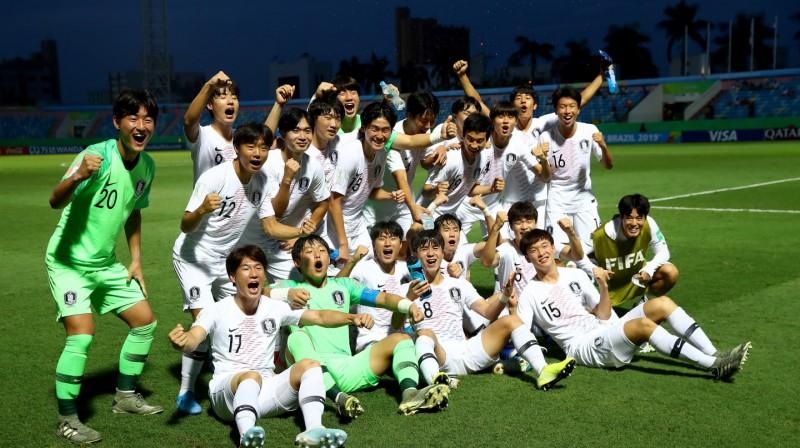Dienvidkorejas U17 futbola izlase. Foto: fifa.com