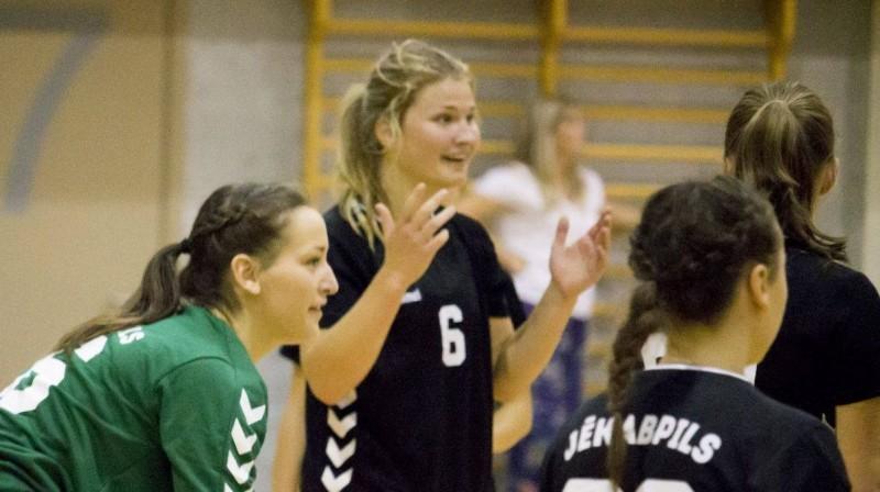 """""""Jēkabpils"""" handbolistes. Foto: handball.lv"""