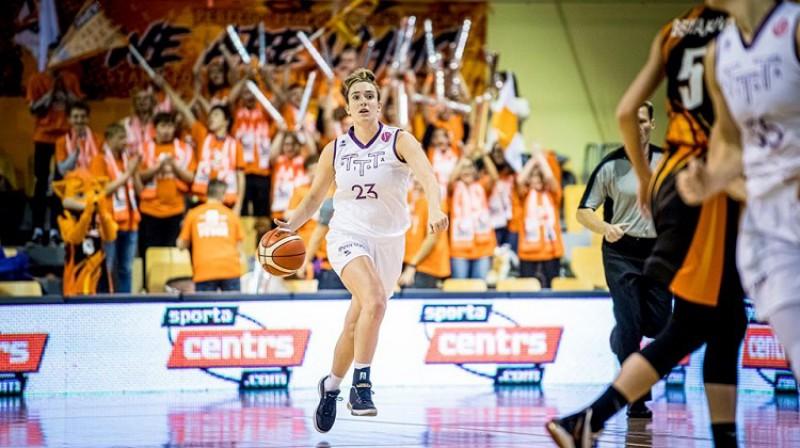 Marina Meibrija: 24 punkti un sensacionāla uzvara Eirolīgas debijā. Foto: Renārs Koris