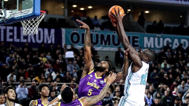 """Turk Telekom"" uzbrukumā. Foto: FIBA"