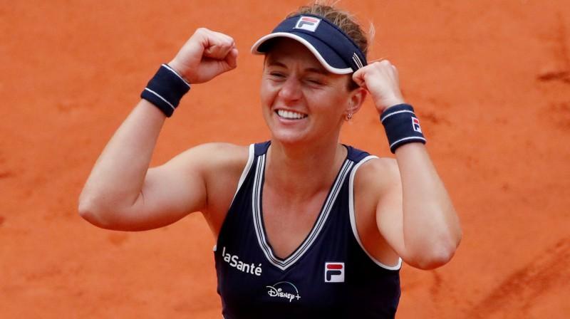 Nadja Podoroska. Foto: Reuters/Scanpix