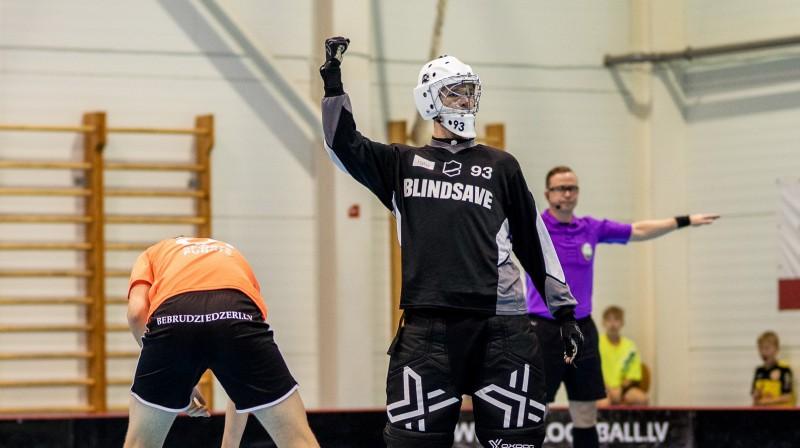 Klaids Maļcevs (Rubene). Foto: Raivo Sarelainens, floorball.lv