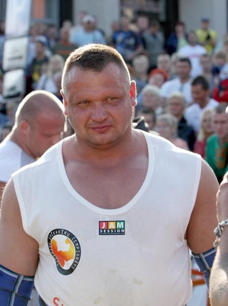 """Kazeļņiks gatavojas """"The World Strongest Man 2009"""" sacensībām"""