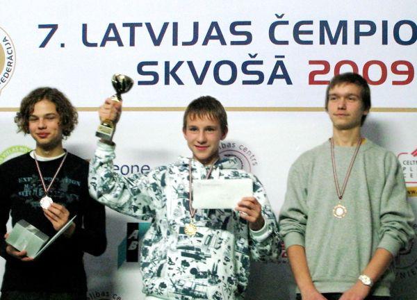 Noskaidroti Latvijas čempioni skvošā