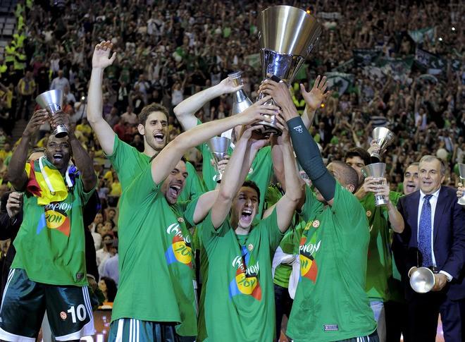 """Panathinaikos"" triumfē Eirolīgā"