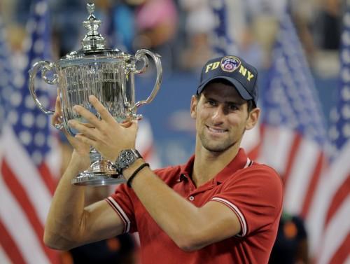 """Džokovičs lieliskā finālspēlē izcīna pirmo """"US Open"""" titulu"""