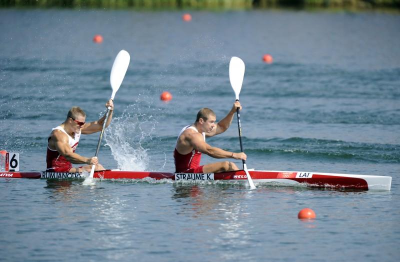 Straume/Rumjancevs 11.vietā Londonas olimpiādē