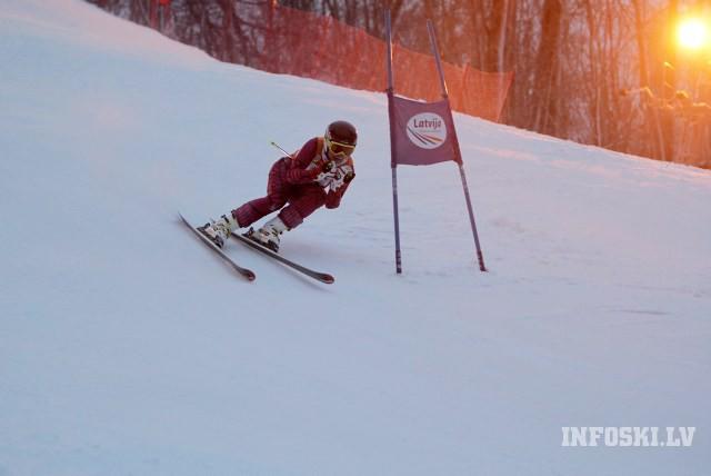 Latvijas kausa kalnu slēpošanā otrā posma supergigants un milzu slaloms