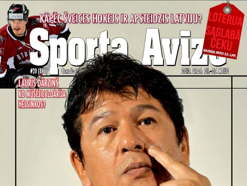 Sporta Avīze. 2013. gada 20.numurs (21.maijs- 27.maijs)