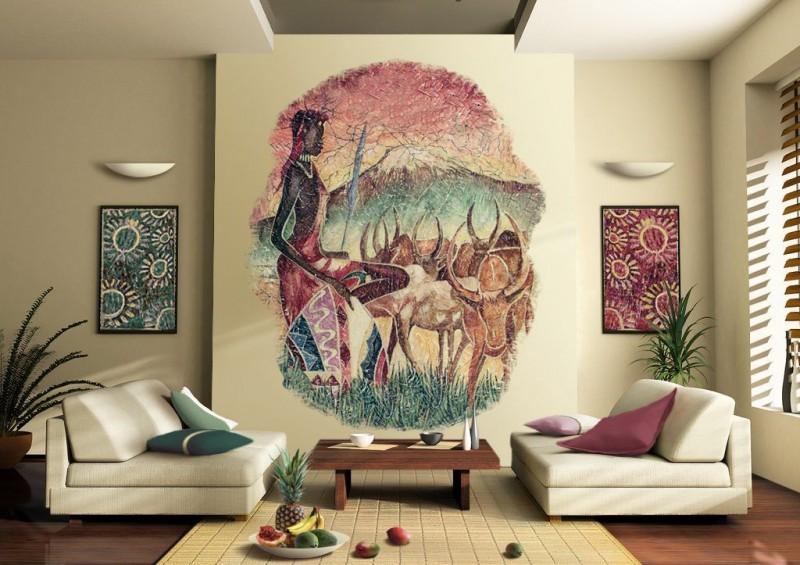 Dekoratīvā PANNO dizains interjerā