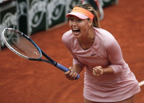 """""""French Open"""" ceturtdaļfināli: Šarapova un Bušāra pret Spāniju"""