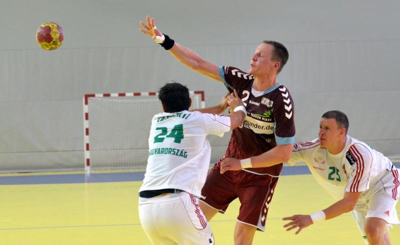 Handbola izlase piedzīvo sakāvi arī Slovēnijā, Jurdžam desmit vārti