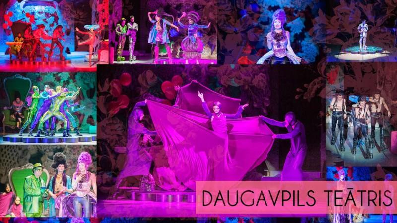"""Grāmatas """"Daugavpils teātris"""" prezentācija"""