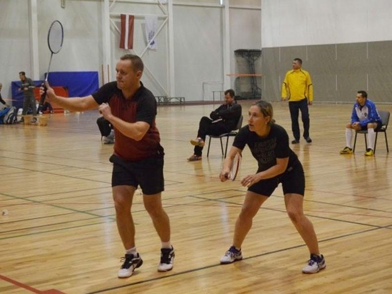 LLU studentus aicina uz badmintona treniņiem