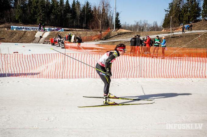 I.Paškovskai un R.Vīgantam fināli FIS sprintā Madonā un punktu rekordi