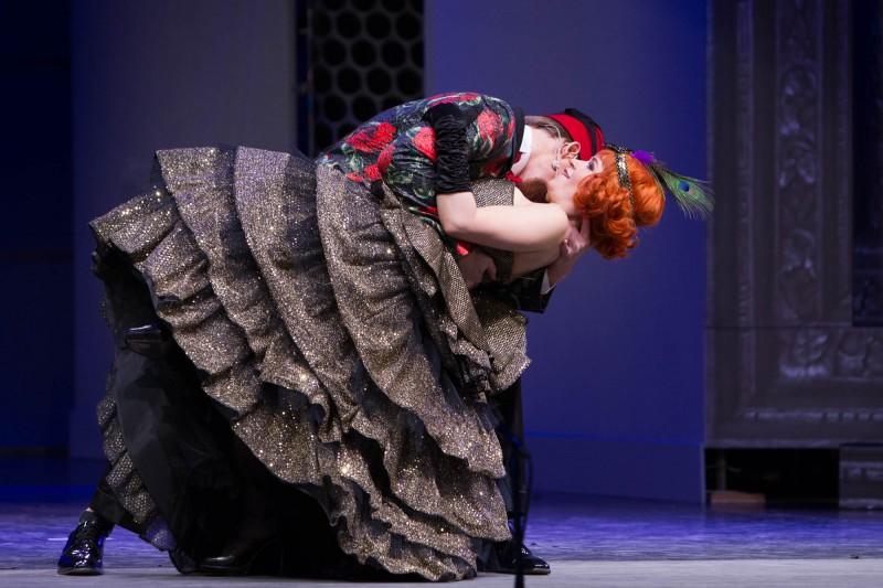 """Operetē """"Balle Savojā"""" pirmo reizi galvenajās lomās Nauris Puntulis, Valērija Koļāgo un Guntars Ruņģis (+VIDEO)"""