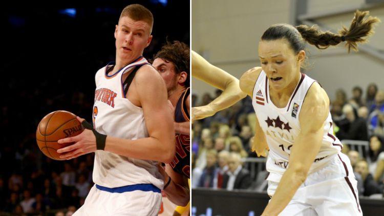 Latvijas gada basketbolisti – Porziņģis un Šteinberga