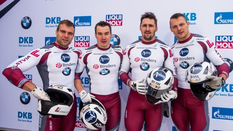 Solis tuvāk zeltam: Starptautiskā federācija izmainījusi Soču rezultātus bobslejā