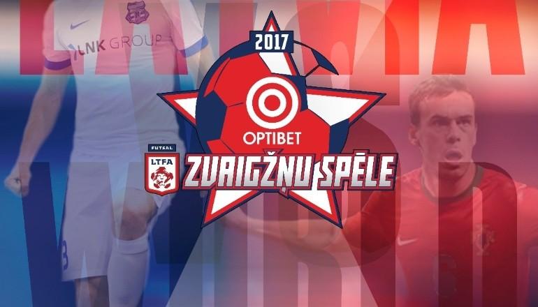 Svētdien Rīgā telpu futbola svētki un zvaigžņu spēle