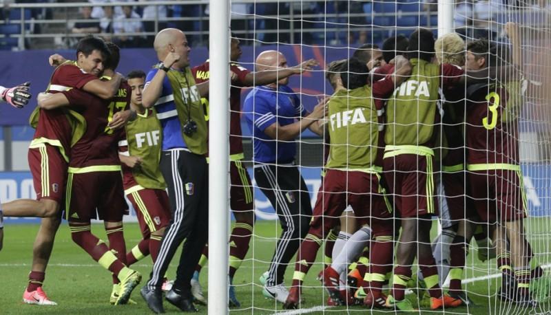 PK U-20: Venecuēla izglābjas pēdējās minūtēs un finālā spēlēs pret Angliju