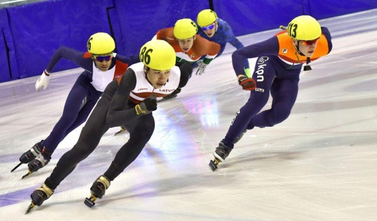 Latvijas šorttrekisti sasniedz Eiropas čempionāta pusfinālu stafetē