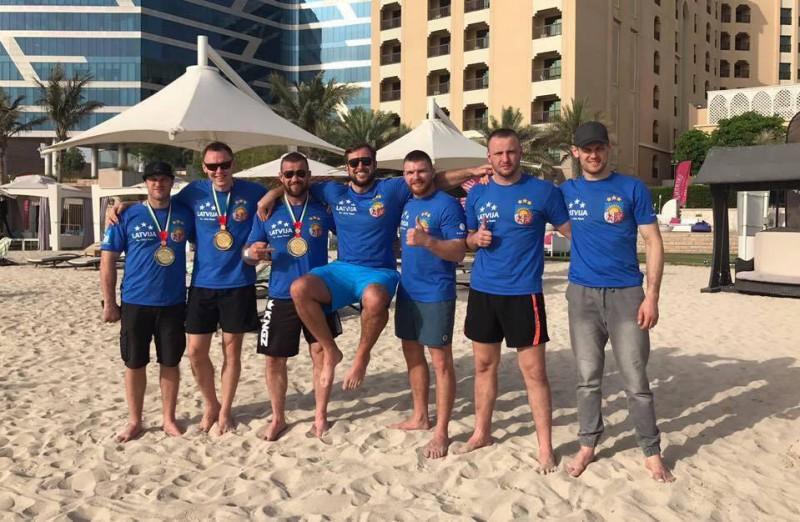 Latvija izcīna trīs zelta medaļas pasaules čempionātā džiu-džitsu