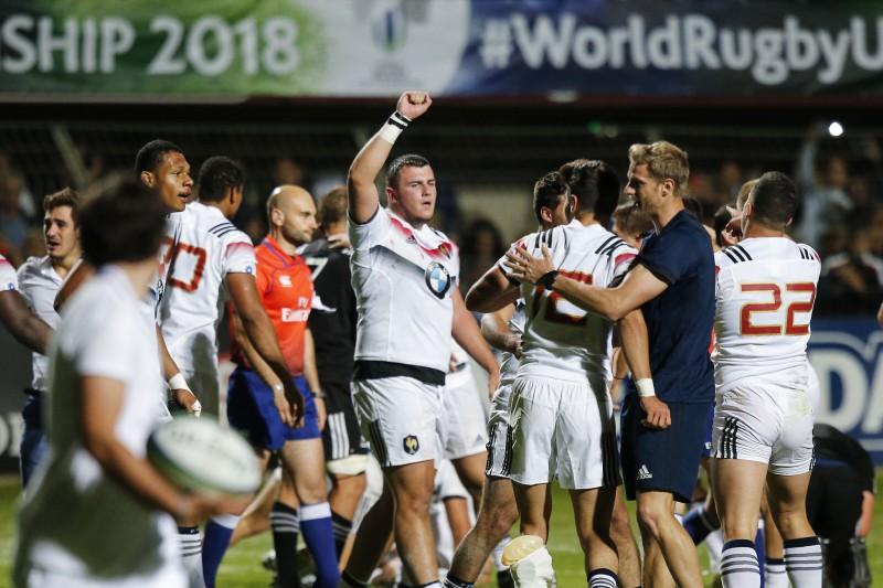 Francija izsmērē Jaunzēlandi un iekļūst PČ U20 finālā