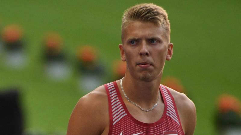Sinčukovs ar jaunu rekordu piektais Eiropas U23 čempionātā 400 m/b