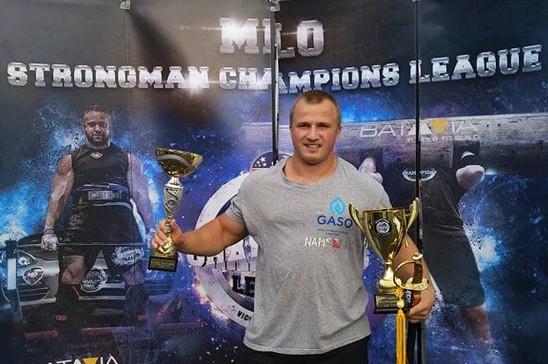 Māris Krievelis - pasaules čempions starp spēkavīriem