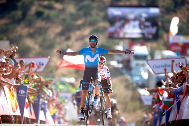 """""""Vuelta"""" otrajā posmā uzvaru izcīna Valverde"""